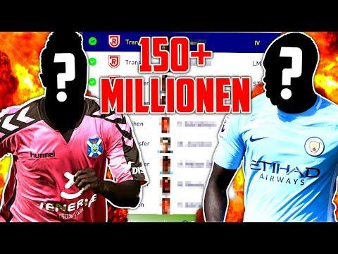FIFA 18 : ÜBER 150 MIL TRANSFERS IN EINER FOLGE !!! 🔥🔥😱 Jahn Regensburg Karriere #27