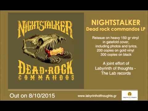NIGHTSTALKER - Keystone (Dead rock commandos LP)