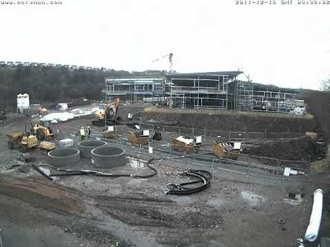Kirklees College - New Engineering Centre February Timelapse