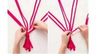 Как сделать кашпо своими руками(Сделатькашпо# для цветов и освободить место на подоконнике. Такое кашпо может сделать даже ребёнок и #подар..., 2016-12-11T13:00:01.000Z)