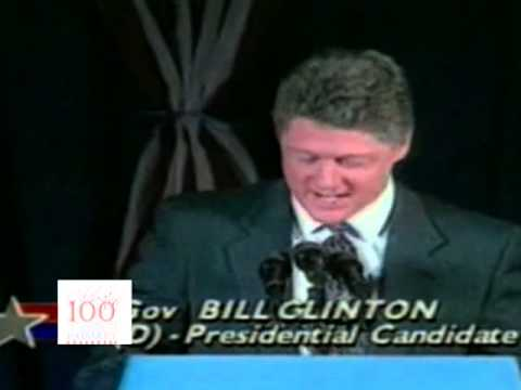 """Bill Clinton: """"Comeback Kid"""" (1992)"""