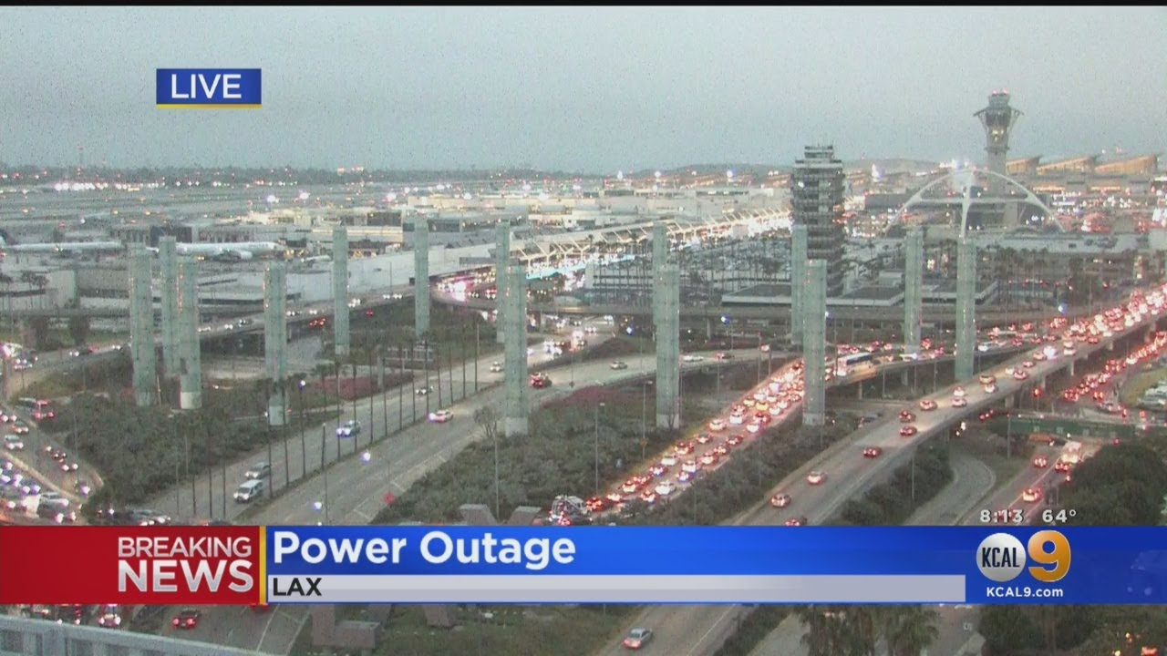 Brief Power Outage At LAX Delays Several Flights