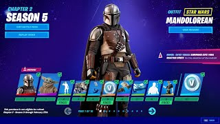 *NEW* Fortnite SEASON 5 BATTLEPASS (TIER 1 - 100)