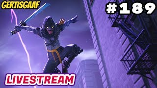 [GIG CLAN] PEOPLE POPPING DOWN!!!! + SKINBATTLES! 🔥🤣 #189 🔴 Livestream Fortnite Battle Royale NL 🔴