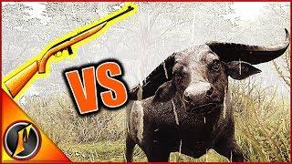 .22 VS Water Buffalo! | theHunter Call of the Wild