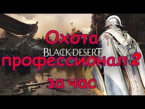 Black Desert Online Гайд по прокачке охоты Профессионал охоты 2 за час