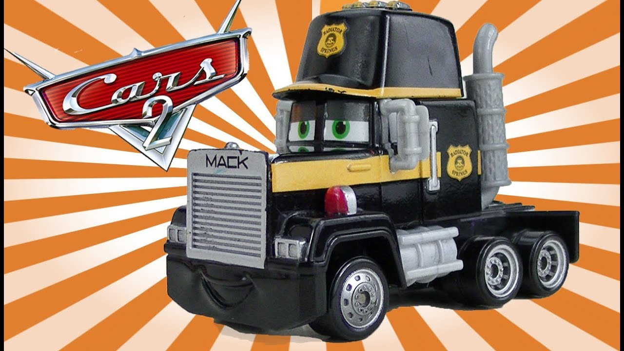 Disney Cars Toys Mack Truck Hauler Toy Mini Adventures Lighting