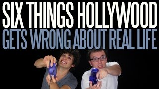 six things hollywood gets wrong about real life   messy mondays