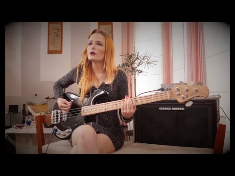 The Killers - Somebody Told Me  - Bass Cover by Ingrid Richter