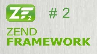 Zend Framework 2 - Создание сайта. Главная страница 2/5