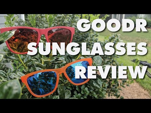 GOODR SUNGLASSES REVIEW - My current favorite running sunglasses (2018)