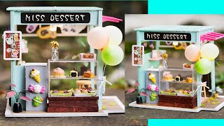 DIY Miniature Dollhouse Dessert Shop - Robotime
