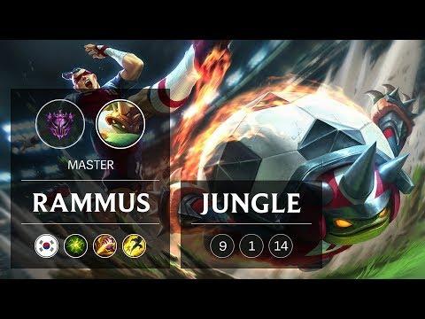 Rammus Jungle Vs Xin Zhao - KR Master Patch 9.4