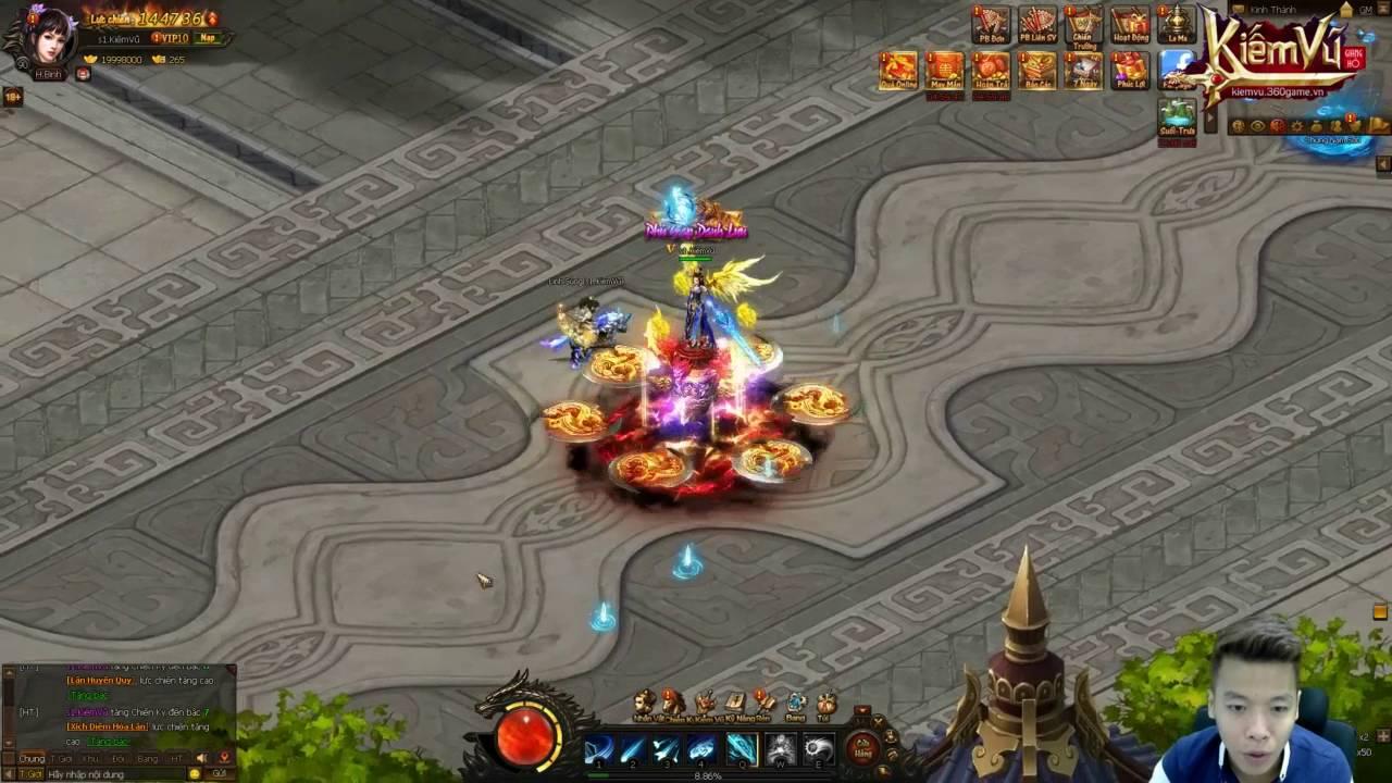 [ 360Game.vn ] Kiếm Vũ – Nâng Cấp Chiến Kỵ