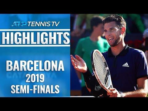 Thiem Stuns Nadal; Medvedev Edges Nishikori | Barcelona Open 2019 Semi-Final Highlights