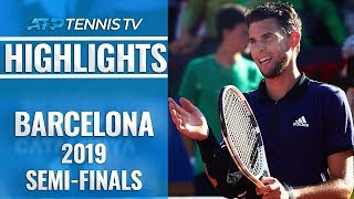 Thiem Stuns Nadal; Medvedev Edges Nishikori | Barcelona Open 2019 Semi-Final Highlights