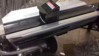 One Handed Earthquake 5 Ton Electric Log Splitter Modification