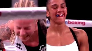 (KO 1) Amanda Serrano vs Eva Voraberger | Vacant WBO Super Flyweight bout | SPOILERS