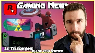 Le Téléphone Switch ?! Zelda Vinyle, Spiderman & Apple, Rockstar Launcher & News Switch !!