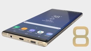SAMSUNG GALAXY NOTE 8 OFFICIAL FINAL DESIGN !!!