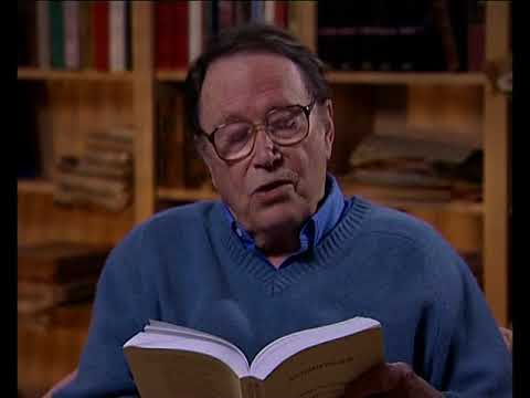 Richard Wilbur - Poetry readings: 'A Baroque Wall-Fountain in the Villa Sciarra' (79/83)