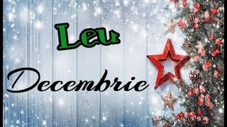 Leu | DECEMBRIE | Tarot |