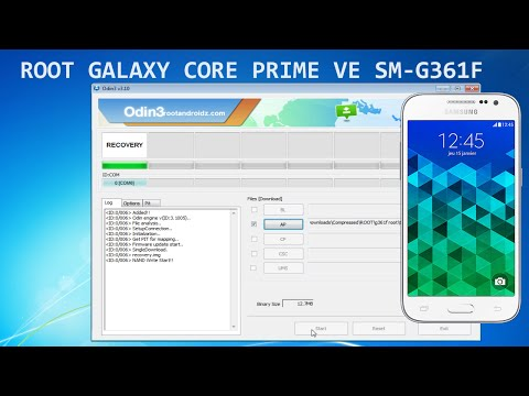 How To Root Galaxy Core Prime SM-G361F