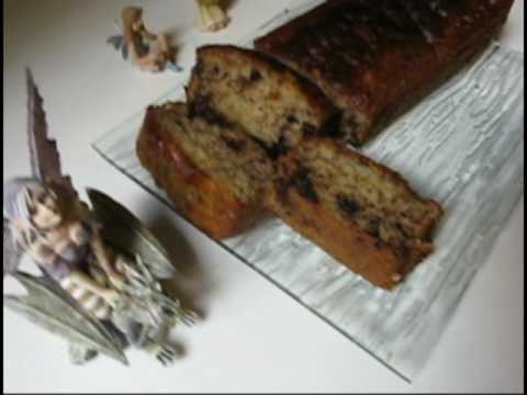 cake-aux-bananes-et-pépites-de-chocolat---gâteau-léger-&-facile---pour-les-nuls
