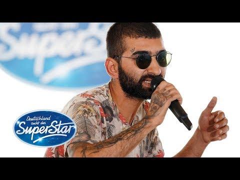 """DSDS 2019  Cagri Karpuz mit einem Freestyle-Rap zu """"Türkischer Marsch"""" von Mozart"""