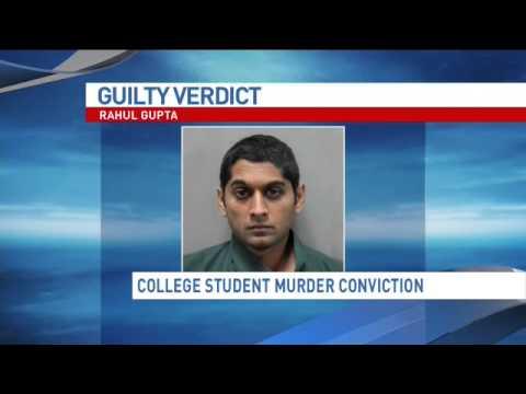 Rahul Gupta convicted of killing Georgetown law school 'buddy' in dispute over 'my girl'
