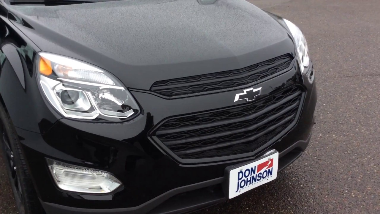 2017 chevrolet equinox awd midnight edition youtube for Don johnson hayward motors