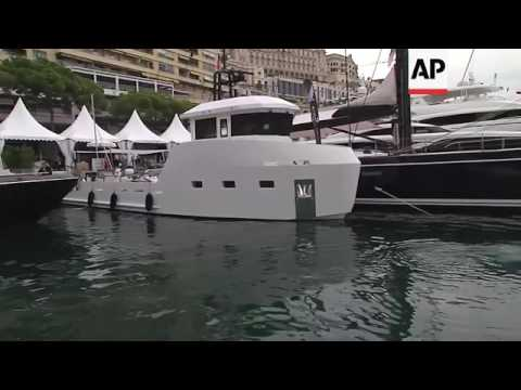 New technology shown on luxury yachts at Monaco show