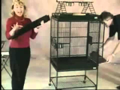 Avian Adventures Bird Cages - Demo Video.FLV