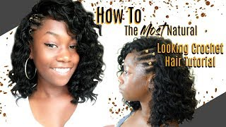How To: The Most Natural-Looking Crochet Hair Tutorial | Harlem 125 Kima Braid