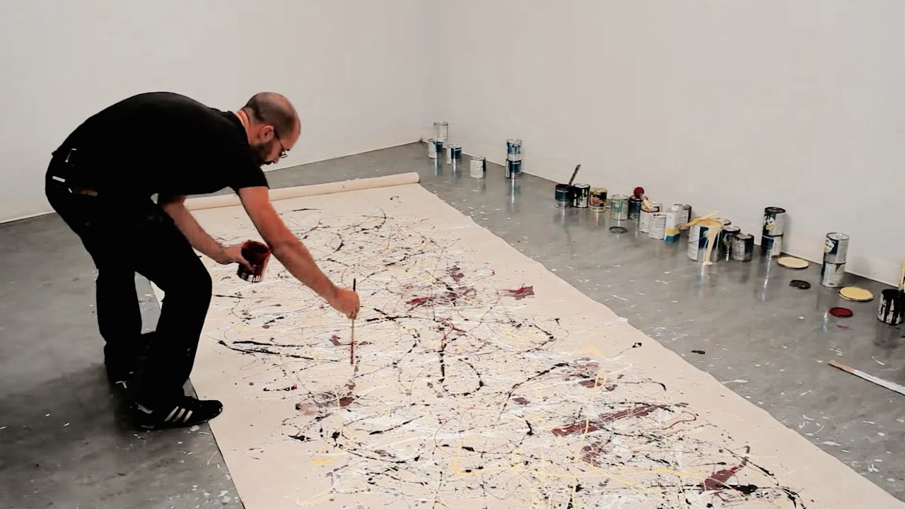 The Painting Techniques Of Jackson Pollock Video Khan