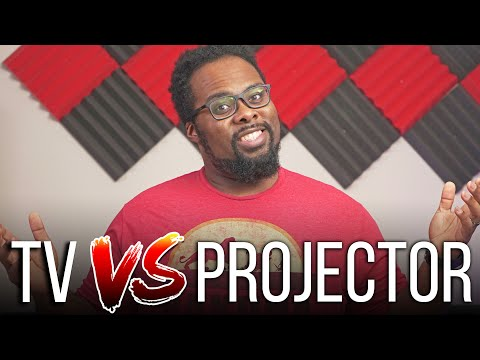 It's Time To Buy A Projector! - TV vs Projector (2020 Edition)