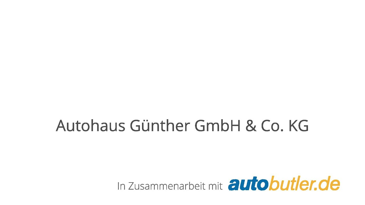 Autohaus Günther Gmbh Co Kg Autobutlerde Youtube