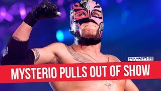Rey Mysterio Pulls Out Of Indie Show Due To WWE Obligation