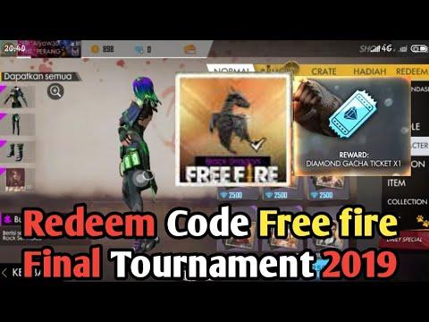 UPDATE Redeem Code Freefire 2019 (NO CLIKBAIT)FREE FIRE BATLLEGROUND