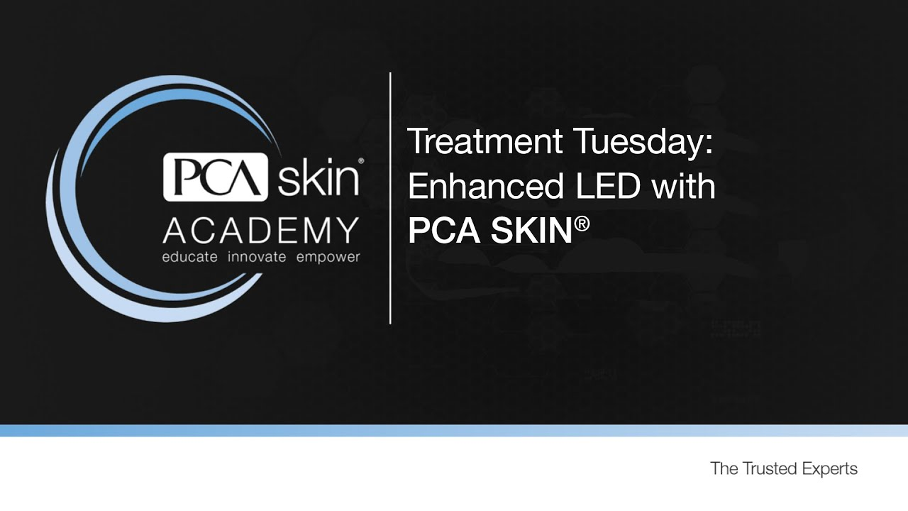 Click to open this video in a pop-up modal: Treatment Tuesday: LED optimized with PCA SKIN<sup>®</sup>