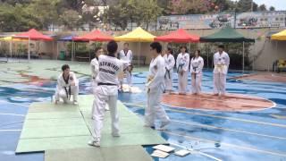 鐘聲慈善社慈善嘉年華跆拳道表演