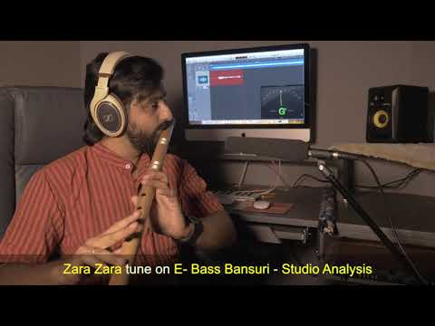 zara-zara-behekta-hai-(rhtdm)-tune-on-e-base-bansuri---studio-analysis---excellent-tonal-quality!