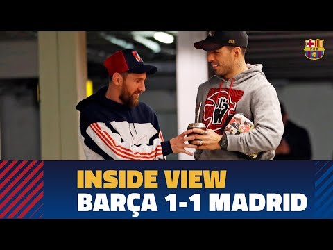 [BEHIND THE SCENES] Barça 1-1 Real Madrid in the Copa del Rey