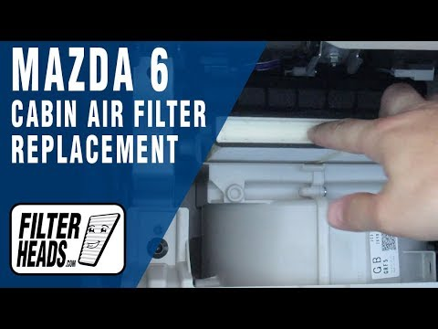 How to Replace Cabin Air Filter 2018 Mazda 6