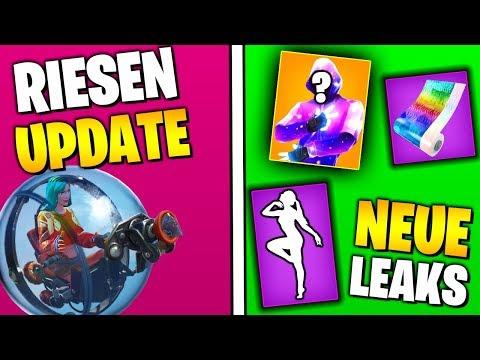 Riesen UPDATE 😱 Neue Skins, Tänze, Leaks, News | Fortnite Season 8 | Deutsch