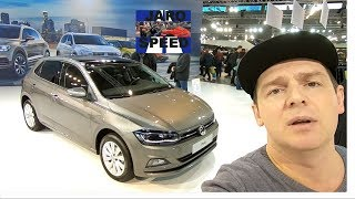 VOLKSWAGEN VW POLO VI (2G) COMFORTLINE MODEL 2019 LIME STONE GREY WALKAROUND AND INTERIOR