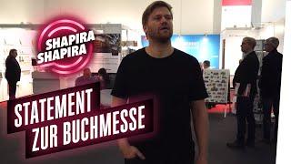 Faschisten anfurzen auf der Frankfurter Buchmesse