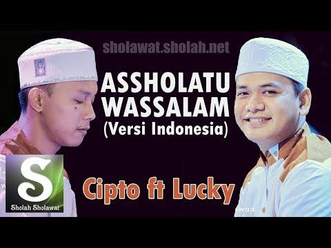 NEW! Lirik Az-Zahir - Assholatu Wassalam (Versi Indonesia) Voc. Cipto Lucky