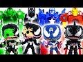 Venomized Hulk, Captain, Iron Man Vs Super Hero Mech Armors