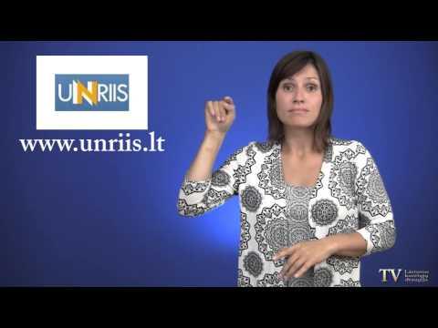 Lietuvių gestų kalbos žodynas